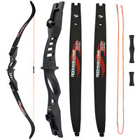 """1Pair 60""""Archery Recurve Bow ILF Limbs 20lbs for Hunting Shooting beginnerTarget"""
