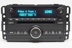2006-2013 Chevrolet Buick OEM Factory 6 CD Radio FM/AM Changer P/N: 15951759