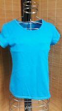 Girl's M SO 14 Aqua short sleeve top