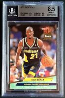 1992-93 Fleer Ultra RC #277 MALIK SEALY Indiana Pacers Graded BGS 8.5 Pop 1/1