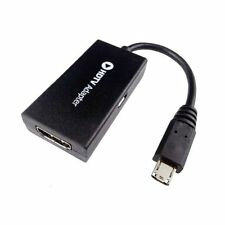 MHL Micro USB a HDMI Cable TV Out Cable 1080p Para Samsung, Sony, HTC & NOKIA