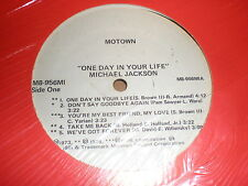 Michael Jackson LP One Day In Your Life MOTOWN WHITE LABEL