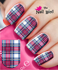Nail Wraps Nail Decals Nail Transfers Nail Art 20 Current Cool Tartan