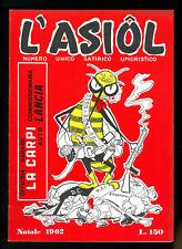 Giornale umoristico satirico CARPI  L'asiol  Natale  1962