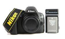 Nikon D3000 DSLR Camera Body + Generic Charger + EN-EL9a Battery  - 757 Shots
