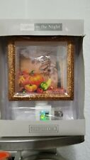 Midwest CBK Lights in the Night 3 Dimensional Autumn Scene Night Light NEW