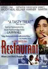 Restaurant (DVD, 2007) Andrien Brody, Love Meets Ambition in New Jersey, Comedy