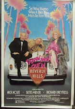 Down and Out in Beverly Hills Original Single Sided Movie Poster Bette Midler