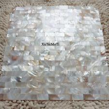 11Pcs Natural brick shell mosaic mother of pearl kitchen backspalsh wall tile