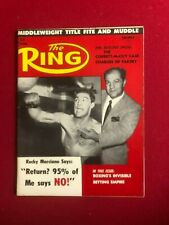 "1959, Rocky Marciano, ""The Ring"" Magazine (No Label) Scarce / Vintage"
