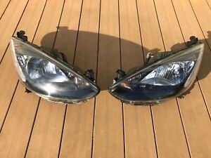 JDM 2009 Mazda 2 Demio DE3FS DE5FS DE Halogen Headlights Lights Lamps Set OEM