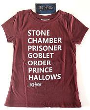 Harry Potter Damen T-Shirt Stone Chamber Prisoner Goblet Prince 32 XS Primark