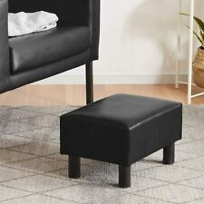 Youdenova Footrest Stool Seat Ottoman Brown 16 inches