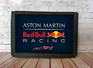 Aston M F1 Red Bull Racing Motor Sport Oil Can Nylon Wallet