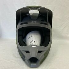 Fox Racing V1 Radeon 2014 Helmet Visor//Peak Red//Green