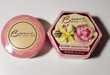 Besame Brightening Vanilla Rose Powder New in Box