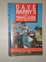 Dave Barrys Only Travel Guide Youll Ever Need by Dave Barry