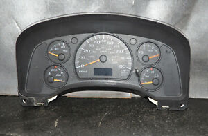 2004-2007 Express Savana 1500 2500 3500 Dash Gauge Cluster Speedometer OEM Gas