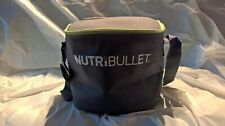 New Insulated NutriBullet To-Go Travel Portable Blade Cup Lid Blender Carry Bag