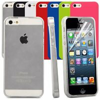 Back Armour Case Cover For Apple iPhone 5,5S,SE Slim Fit Snap On Hard Shell