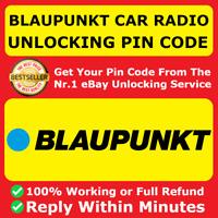 BLAUPUNKT BOSCH RADIO PIN CODE DECODE UNLOCKING FORD FIAT NISSAN ALFA ROMEO BMW✅