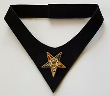 Order of Eastern Star Cravat with Hand Embroidery Symbol