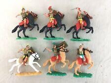 Lot 6 Vintage Timpo Swoppet Mounted Roman Legionary Legionaires Warriors