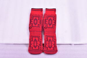 Men's Stance B Grade Tribal Print Crew Socks -Red - (S/M)