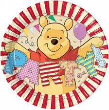 Piatti Carta Winnie The Pooh  20 cm , Festa Compleanno PS 07991