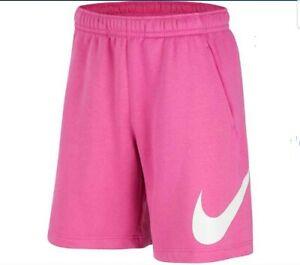 Nike MEN NSW CLUB GRAPHIC BASKETBALL SHORTS PINK/WHITE BV2721-623  XL-TALL