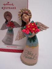Hallmark Ornament 2014 Feliz Navidad Angel #QGO1523 NEW