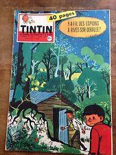 journal tintin 546 France (1959) avec son chèque tintin