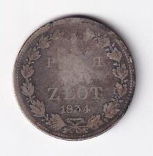 Polonia ruso 3/4 rublos 5 zIotis 1834 NSW-Leipzig