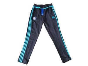 adidas FC Schalke 04 Trainingshose Kinder Größe 176 -NEU- Hose pants AB2036