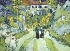 Wentworth Stairway at Auvers 250 Piece Vincent van Gogh Wooden Jigsaw Puzzle