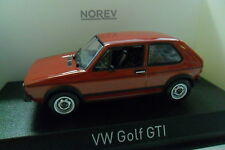 NOREV 1:43 AUTO DIE CAST VOLKSWAGEN GOLF GTI 1976 RED  ART 840046