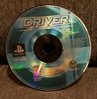 PS1 Driver You Are The Wheelman Sony PlayStation 1 1999 Black Label (DISC ONLY)