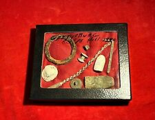 Rare Civil War Relics Grouping - Excavated At Culp'S Hill Gettysburg In 1980