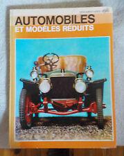 AUTOMOBILES ET MODELES REDUITS 1769 - 1934