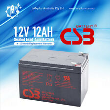 CSB OEM APC Replacement Battery GP12120 12V 12AH 4 UPS Solar  Scooter eBike