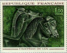 FRANCE - 1966 - Art Sculptures - Cratère de Vix. Bronze Vase - MNH - Sc. #1149