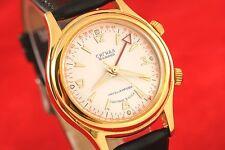 SIGNAL POLJOT Russian USSR manual winding luxuary watch with buzzing alarm