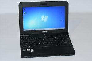 "10.1"" Laptop Toshiba NB250 - 107 Intel Atom N455 2GB RAM 240GB HDD Windows 7"
