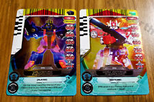 "Power Rangers Rise Of Heroes Holo 1-027 & 082  ""High Octane & Valvemax Megazord"""