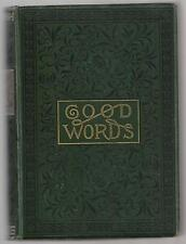 GOOD WORDS FOR 1881   Donald MacLoed D. D.   1st Ed. 1881  Ex+++   BK