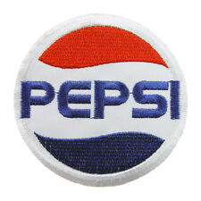 PEPSI COLA Logo Embroidered Iron On Patch #PPS011