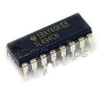 50PCS TL494CN TL494 DIP-16 TI PWM Power Supply Controllers NEW IC