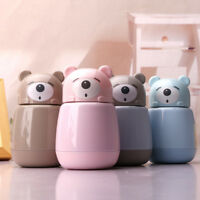 Thermos new creative bear cute mug child cartoon vacuum cup portable cup
