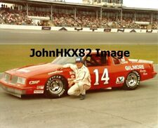 4X INDY 500 WINNER AJ FOYT NASCAR DAYTONA 500 #14 PHOTO - GILMORE / OLDSMOBILE