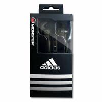 Adidas Monster Sport Response In-ear Headphones (Black ) New Sealed in Box